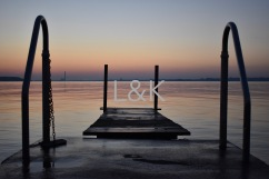 LK Web sunrise dock